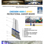 CASCADIA 4500 C SERIES RECREATIONAL DASHER BOARD