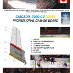 CASCADIA 7000 CV SERIES PROFESSIONAL DASHER BOARD