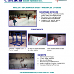 CASCADIA PRODUCT INFORMATION SHEET – ARENAFLEX DIVIDERS
