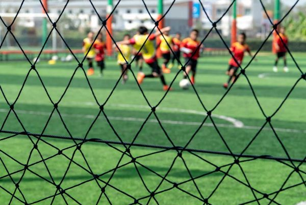 Score Big with Soccer Backstop Netting